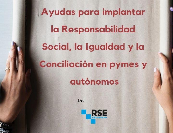 AYUDAS RESPONSABILIDAD SOCIAL EMPRESARIAL (RSE). 2019